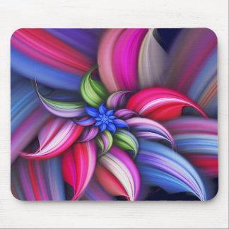 Abstrakt färgrikt mönster musmatta