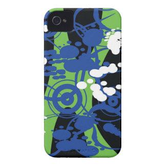 abstrakt Fodral-Kompis fodral iPhone 4 Case-Mate Fodraler
