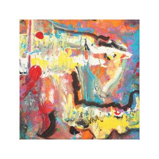 Abstrakt för akryl 12 x 12 canvastryck