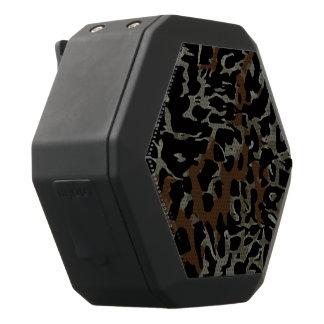 Abstrakt för Cheetah för mörkbruntsvart Svart Bluetooth Högtalare