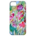 Abstrakt för CricketDiane blomsterträdgårdvattenfä iPhone 5 Fodraler