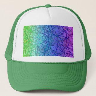 Abstrakt för hattGrungekonst Keps