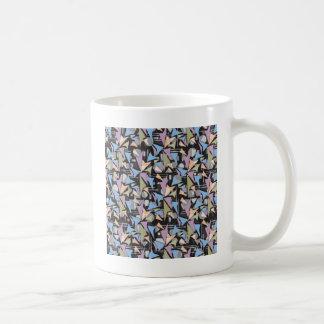 Abstrakt formar Collage Kaffemugg