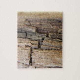 Abstrakt fotograferar av trä pussel