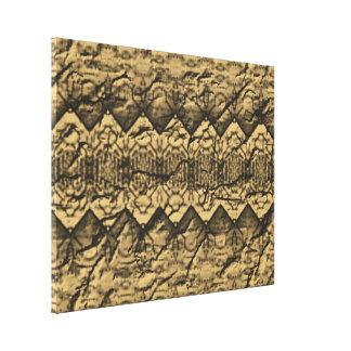 Abstrakt gammalt pappert mönster canvastryck