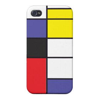 Abstrakt geometri iPhone 4 skydd
