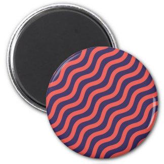 Abstrakt geometriska vinkar mönster magnet