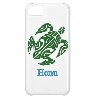 Abstrakt grön hawaiansk havssköldpadda på vit iPhone 5C fodral
