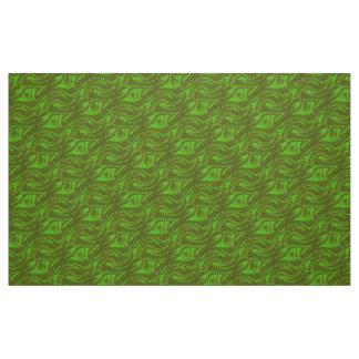 Abstrakt grönt virvlar runt mönster
