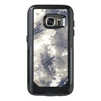 Abstrakt grungebakgrund. Vattenfärg bläck OtterBox Samsung Galaxy S7 Skal