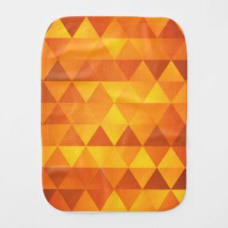 Abstrakt gula trianglar bebistrasa