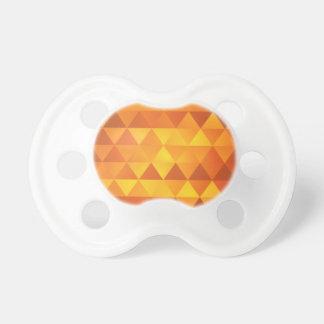 Abstrakt gula trianglar napp
