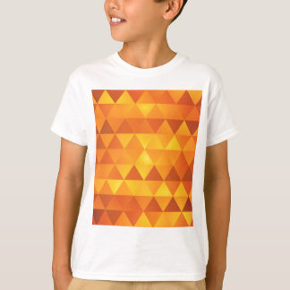 Abstrakt gula trianglar tröja