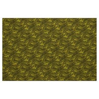 Abstrakt gult virvlar runt mönster
