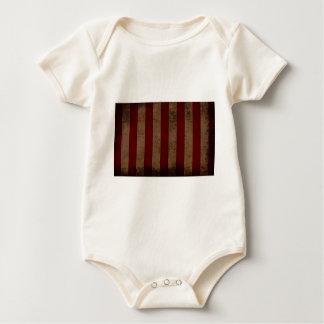 Abstrakt ha på sig amerikanska flaggan krypdräkt
