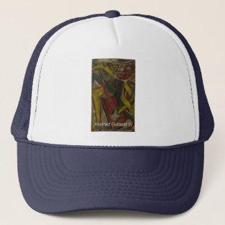 abstrakt hatt för gitarrist 4 truckerkeps
