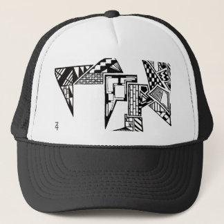 Abstrakt hatt truckerkeps
