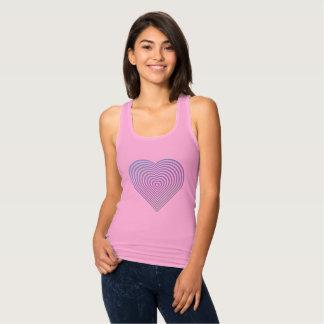 Abstrakt hjärta tröja