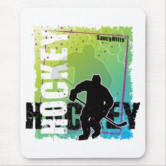 Abstrakt hockey (manlign) musmatta