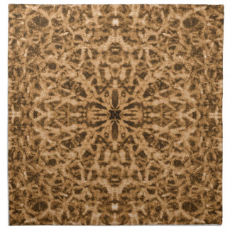 Abstrakt kaleidoscopepälsmönster tygservett
