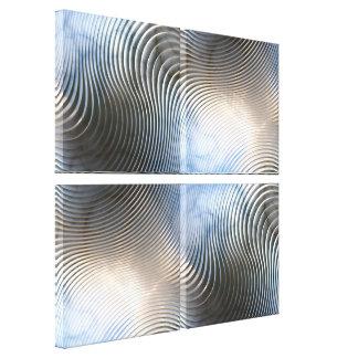 Abstrakt konst 128 canvastryck
