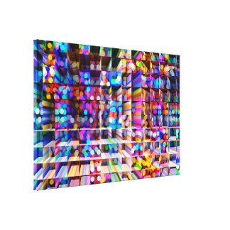 Abstrakt konst 153 canvastryck