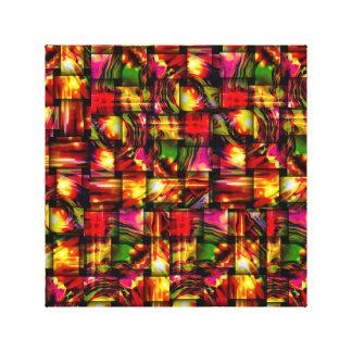 abstrakt konst canvastryck