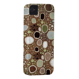 Abstrakt konst cirklar blackberry bold 9700/9780 Case-Mate iPhone 4 skal