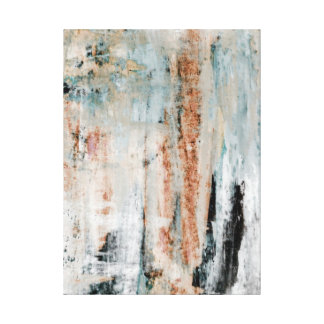 """Abstrakt konst """"för för uppmärksamhet"""" kricka och canvastryck"""