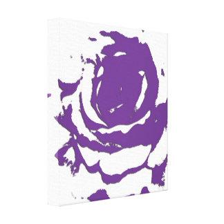 Abstrakt konst för lilarokanfas canvastryck