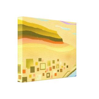 abstrakt konst för öken canvastryck