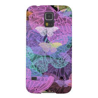 Abstrakt konst för Transluscent fjärilar Galaxy S5 Fodral