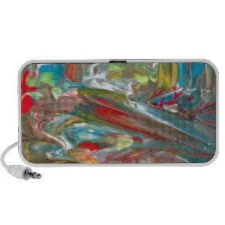 Abstrakt konst laptop speakers