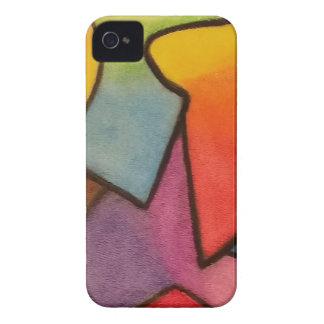 Abstrakt konst iPhone 4 skal