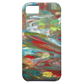 Abstrakt konst iPhone 5 cover