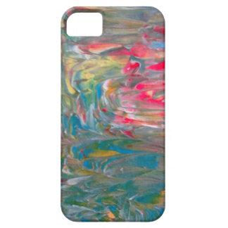 Abstrakt konst iPhone 5 skal