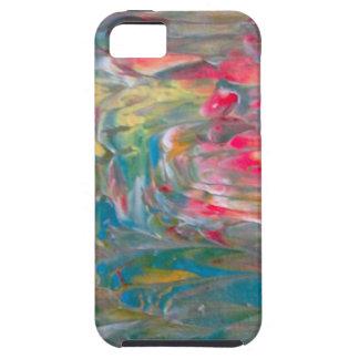 Abstrakt konst iPhone 5 skydd