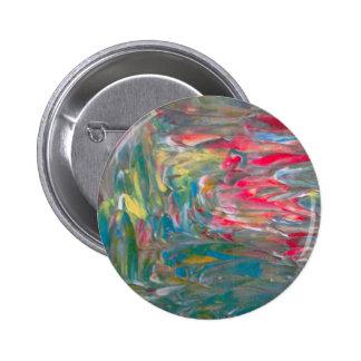 Abstrakt konst standard knapp rund 5.7 cm