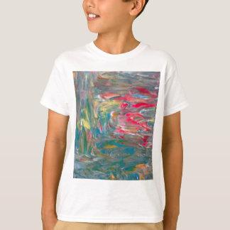 Abstrakt konst t shirt