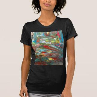 Abstrakt konst t-shirt