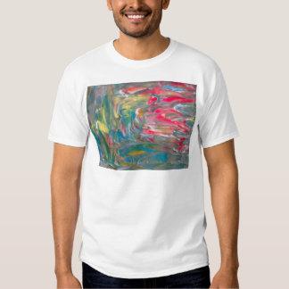 Abstrakt konst tee shirt