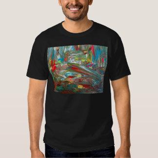 Abstrakt konst tröja