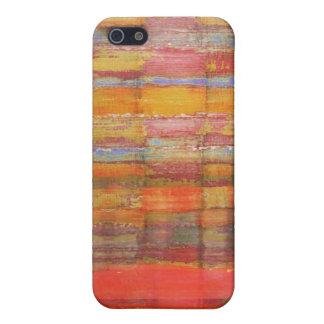 Abstrakt konstfärgmönster iPhone 5 skydd