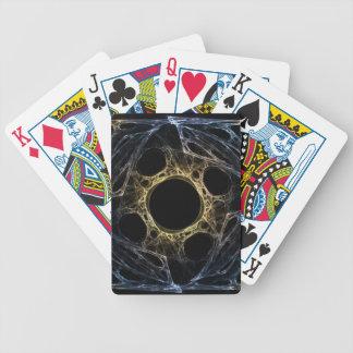 Abstrakt konstFractal för Iris Spelkort