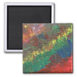 Abstrakt konstmagnet magnet