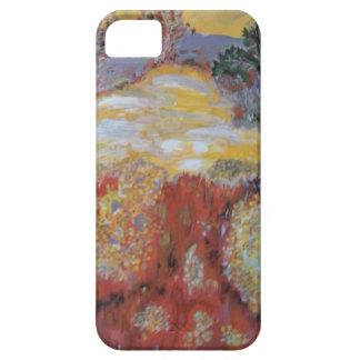 Abstrakt landskap iPhone 5 cover
