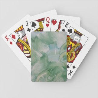 Abstrakt leka kort casinokort