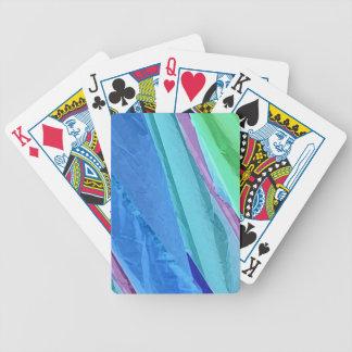Abstrakt leka kortdäck för pastellfärgade silke spelkort