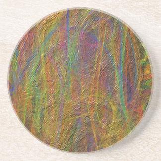 Abstrakt linjärt texturerat mönster underlägg