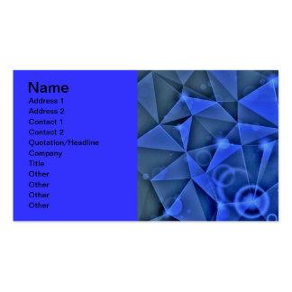 Abstrakt ljus bakgrundsvektor för DEPPIGHET TRE Set Av Standard Visitkort